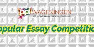 "Pengumuman ""Popular Essay Competition"""