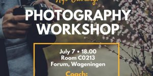 Photography Workshop 2017