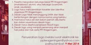 Sayembara Logo PPI-Wageningen